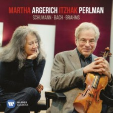 ARGERICH, MARTHA/ITZHAK PERLMAN - BACH & SCHUMANN