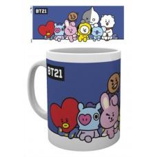 BT21 - Group Mug - BOXEDMUG