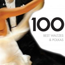 100 BEST WALTZES & POLKAS - V.A.