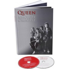 QUEEN - ABSOLUTE GREATEST/LTD (CD GREATEST HITS + KNIHA)