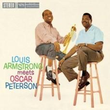 ARMSTRONG, LOUIS - meets PETERSON, OSCAR