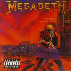 MEGADETH - PEACE SELLS..BUT WHO'S BUYING