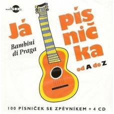 Bambini di Praga - Já písnička od A do Z, 4CD+zpěvník