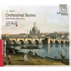 BACH J. S. - Orchestrální suity (předehry) č. 1-6 BWV1066