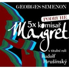 5X KOMISAŘ MAIGRET_PODRUHÉ - GEORGESSIMENON