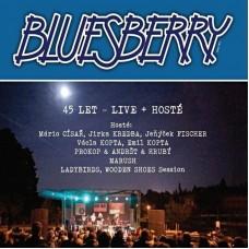 BLUESBERRY - 45 LET/LIVE+HOSTÉ