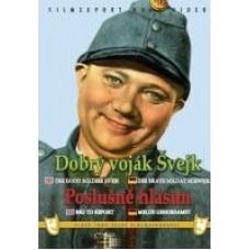 DOBRÝ VOJÁK ŠVEJK/POSLUŠNĚ HLÁSÍM - FILM