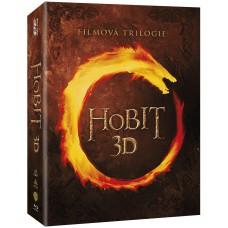 Hobit kolekce 1.-3. 12BD (3D+2D)