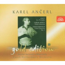Ančerl Karel / Česká filharmonie - Ančerl Gold Edition 42 Liszt : Prelud