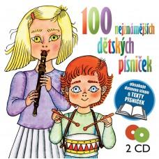 100 NEJZNÁMĚJŠÍCH DĚTSKÝCH PÍSNIČEK - V.A.