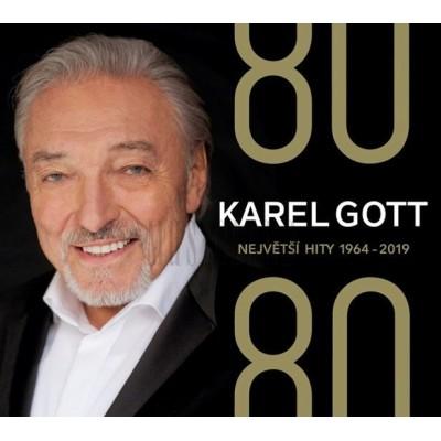 GOTT KAREL - 80/80NEJVĚTŠÍHITY1964-2019